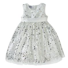Blueberi Boulevard Sequin Dress - Baby Girl