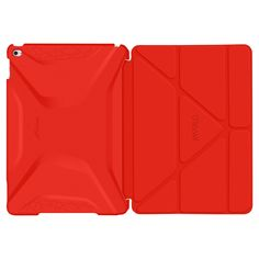 roocase Apple iPad Air 2 Origami 3D Case - Testarossa Red/Tangerine Yellow (RC-Apl-AIR2-OG-SS-TR/TY)
