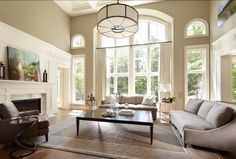 LIVING ROOM & FAMILY ROOM – Interior Design Ideas: Paint Color