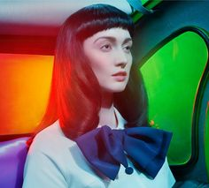 Beauty by Miles Aldridge for Vogue Italia May 2014