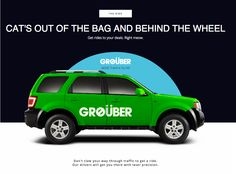 "In honor of April Fools' Day, the company launched ""Grøüber,"" a service that lets you order cars driven by cats."