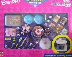 Barbie Fun Fixin' Baking Set - Complete Meal Set (1997 Arcotoys, Mattel) by Arcotoys, Mattel, http://www.amazon.com/dp/B0029KMSHW/ref=cm_sw_r_pi_dp_stciqb0KJ6WV8: