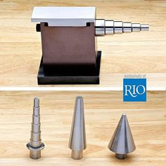 The Swanstrom Multi Purpose Anvil is a great addition to your bench for forming tasks, such as shaping rings and slim bracelets and forming curved components for drops or dangles. Visit Rio's YouTube to see Tim Sheriff showing how simple it is to use the