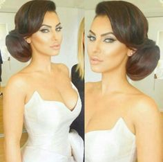 :-) make up & hair