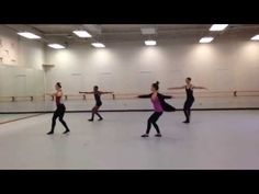 ▶ Great Combo for Jazz Technique & Lines! Give It To U - Robin Thicke - Tiffanie Carson Choreography