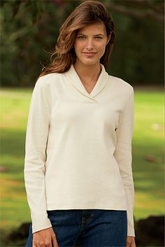 Womens Pullover - Shawl-Collar Pullover -- Orvis on Orvis.com!