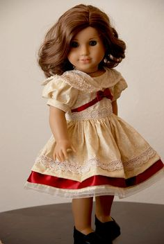 I nearly died of cuteness over this one.... ;)  #American #Girl #doll