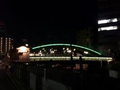 It's a very small bridge in Tokyo. @Yanagi-bashi