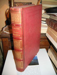 Œuvres complètes de J. Racine GRAVURES sur Acier d après Staal Belle Reliure
