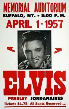 Elvis concert poster Look at that ticket price!!