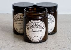Clean, refreshing, and intoxicating, Room 2046's own custom blend candle is all natural.