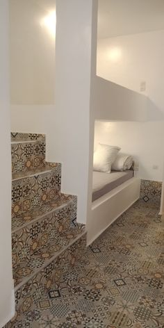 Our new shared room in our surf and yoga house in Tamraght, Morocco. There are 3 bunk beds with stairs and personal safe for your personal storage 3 Bunk Beds, Bunk Beds With Stairs, Personal Safe, Personal Storage, Yoga Room Design, Wave Dance, Triple Room, Capsule Hotel, Surf House