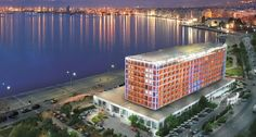 Makedonia Palace Hotel in Thessaloniki, Makedonia, Greece. Hotels And Resorts, Best Hotels, Top Hotels, Luxury Hotels, Beautiful Islands, Beautiful Places, Places Around The World, Around The Worlds, The Neighbor