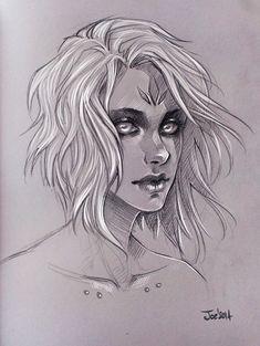 Sketch by sashajoe
