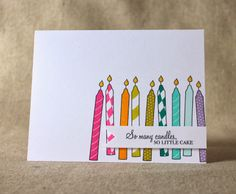 Don't Forget To Write: Rainbow Birthday Card & A Little Announcement
