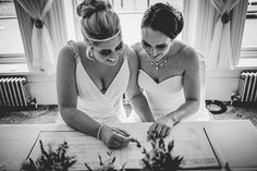 Meet The Beautiful Jess And Ella And Their Gorgeous Bundle Of Fur Cooper Their Glittery Brecon Beacon Wedding Has Had All Of Us At Cwtch Hq Giddy With