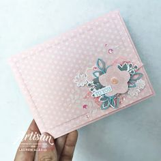 Crafty Little Peach: Needlepoint Nook - Stampin' Up Artisan Blog Hop Little Peach, Stampin Up Catalog, Beautiful Handmade Cards, Powder Pink, Couture, Ink Pads, Stamping Up, Flower Cards, Needle And Thread