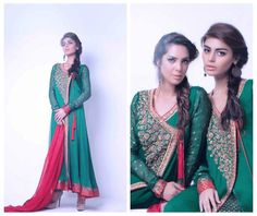 Zaheer Abbas Formal Wear Colllection 2013 for Ladies