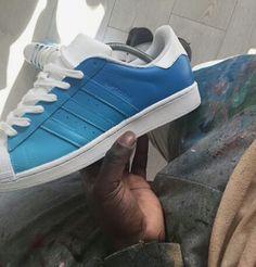 Adidas Original Superstar Made with by CrystallizedKicks on