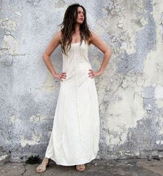 Lovely Day Long Dress hemp/organic cotton knit by gaiaconceptions, $165.00
