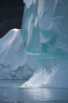 Iceberg off the south-east coast of Greenland, near the village of Ittoqqortoormiit. Photo by Nancy Carels
