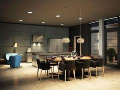Gambar Desain Ruang Makan Minimalis Modern