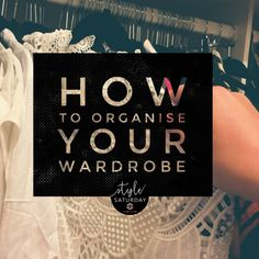 """I love the term """"shop your wardrobe"""". Do you keep your wardrobe in boutique condition? Here is how to organise your wardrobe to make shopping in it easier. Wardrobe Organisation, Organization, Shopping, Style, Fashion, Getting Organized, Swag, Moda, Organisation"""