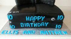 X box cake