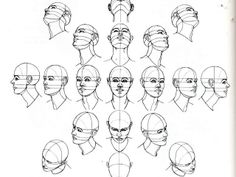 Head perspective references - useful!