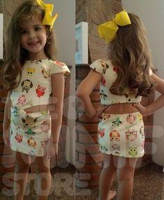 Vestidos Infantis Roupa Infantil