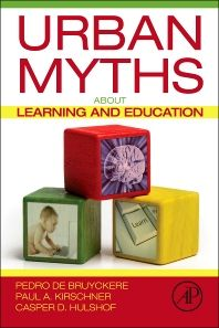 Our book, Urban Myths about Learning and Education, out now! | From experience to meaning...