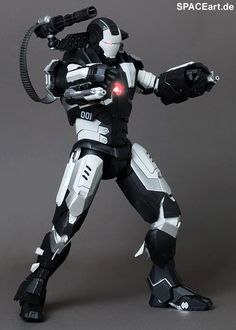 Iron Man 2: War Machine - Special Version, Fertig-Modell ... http://spaceart.de/produkte/irm004.php