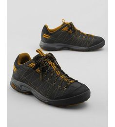 Men's Timberland Low Radler Trail Approach Hiking Shoes, Black  Timberland Low Radler Trail Approach Hiking Shoes - Take on rough terrain–rain or shine–with these eco-friendly, bestselling hiking shoes from Timberland. Durable, water-resistant suede uppers and compression-molded EVA midsole.