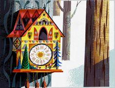 Justin Parpan Blog:  Yodelberg- Background art of new Mickey Mouse short