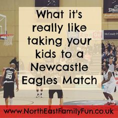 What it's really like taking your kids to a Newcastle Eagles basketball match
