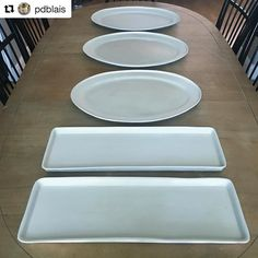 Fine, functional ceramics, handcrafted with love. I'm inspired to combine old world designs & modern aesthetics, architectural geometry with natural forms Modern Aesthetics, Ceramic Studio, Natural Forms, Old World, Modern Design, Plates, Ceramics, Tableware, Number 7