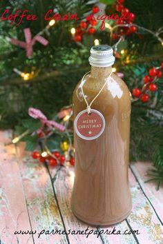 Liqueur Chocolat Café en 48 h chrono #Cadeaux Gourmands | Parmesan et Paprika