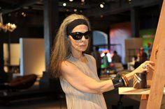 Cristina Franco é curadora do Espaço Lounge com peças que reúnem design e moda do Pará.