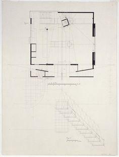 casa en la clota enric miralles ligne pinterest architecture architecture plan and draw. Black Bedroom Furniture Sets. Home Design Ideas