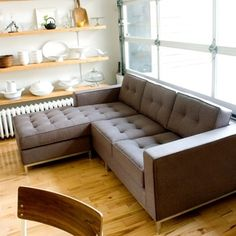 modern sofa available in a wide range of greys.