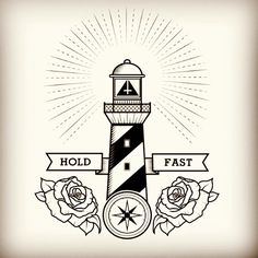 .@mortani1   An illustration in progress for a tshirt for rimfrost clothing. lighthouse