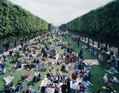 Massimo-Vitali-PicNic Allée 2000 Paris