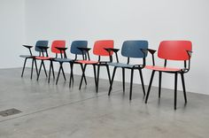 Revolt chairs by Friso Kramer(1953)