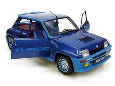This Renault 5 Turbo Diecast Model Car is Blue and features working steering, wheels and also opening bonnet with engine, boot, doors. It is made by Universal Hobbies and is 1:18 scale (approx. 22cm / 8.7in long). ...