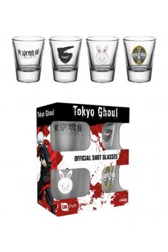 Tokyo Ghoul Mix Shot Glasses