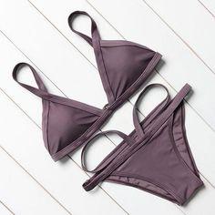 d6f67190e7305 Grey Brazilian Bikini Cheap Swimsuits