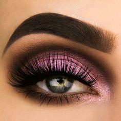 Eyebrow Makeup, Diy Makeup, Makeup Tips, Makeup Tutorials, Makeup Ideas, Eyeshadow Step By Step, Smokey Eyeshadow, Eyes Lips Face, Makeup For Teens