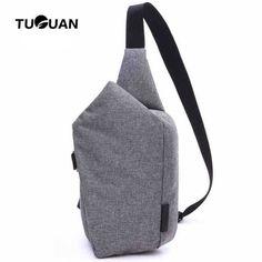 man zone New Brand Men Messenger Bags Canvas Chest Pack Casual Men s Travel  Shoulder Bag Crossbod b0a774c427037