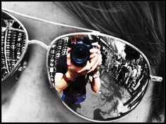 reflection photography- black and white with a pop of color in the reflection?  What do you think EIC?