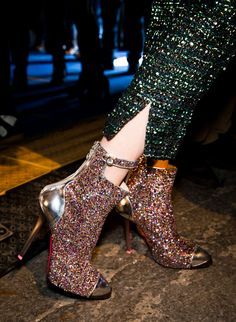 A good pair of boots are a must-buy every fall, but these stylish finds are anything but basic. Discover ones that suit your style and budget--plus, pick up... glitter colorful glamour glam